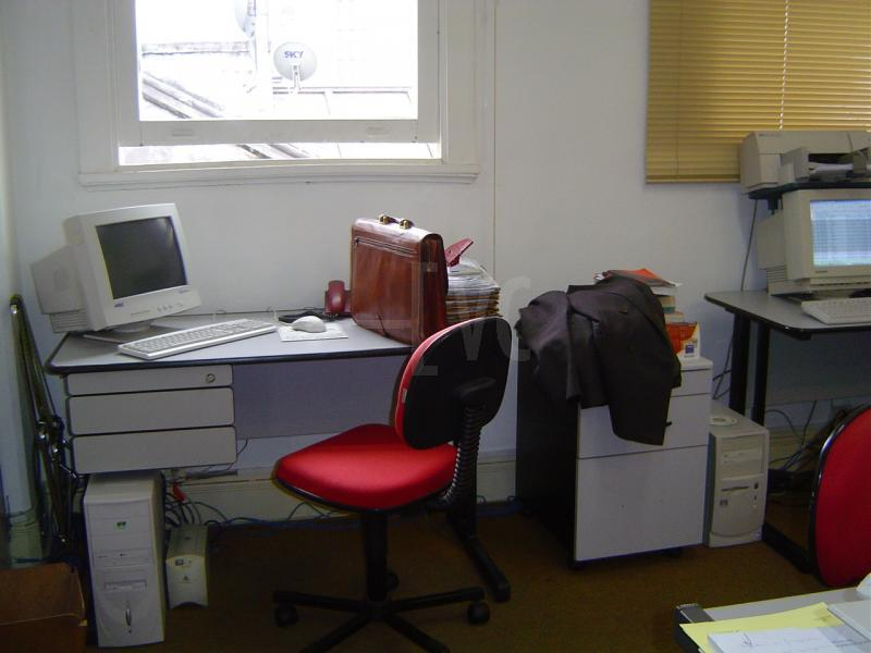 Organização do escritório em casa. Home Office.